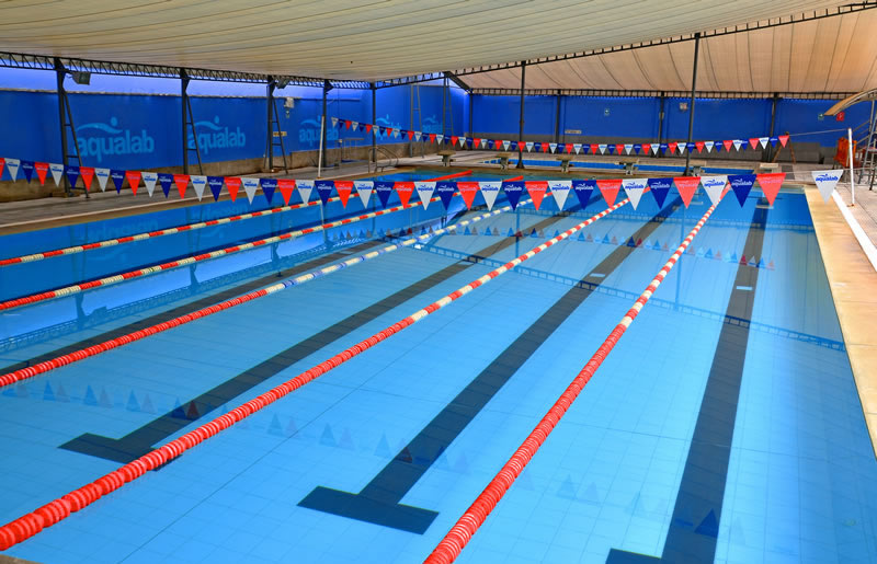 San isidro aqualab for Piscina olimpica