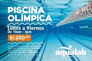 Promoción Piscina Olímpica