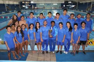El Club Deportivo Aqualab logra el tercer puesto en el Campeonato nacional de invierno por categorías 2016.